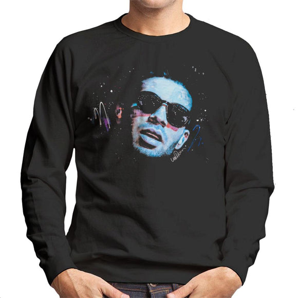 Sidney Maurer Original Portrait Of Drake Sunglasses Men's Sweatshirt