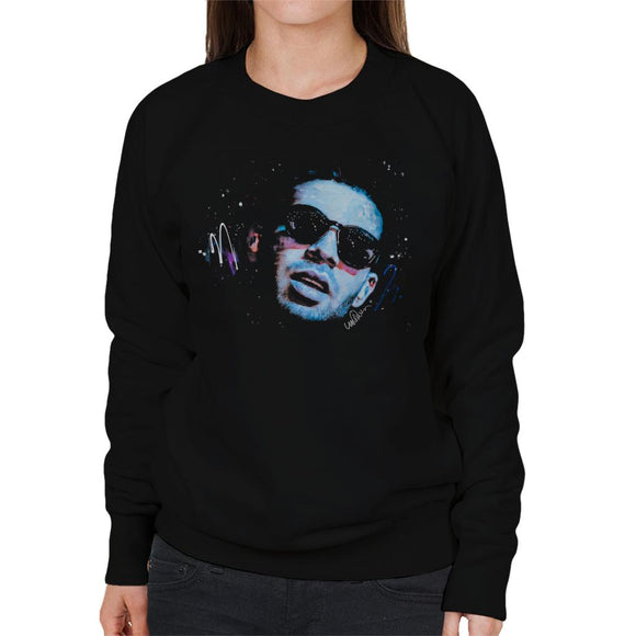 Sidney Maurer Original Portrait Of Drake Sunglasses Women's Sweatshirt