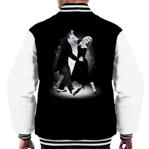 Sidney Maurer Original Portrait Of Fred Astaire Men's Varsity Jacket