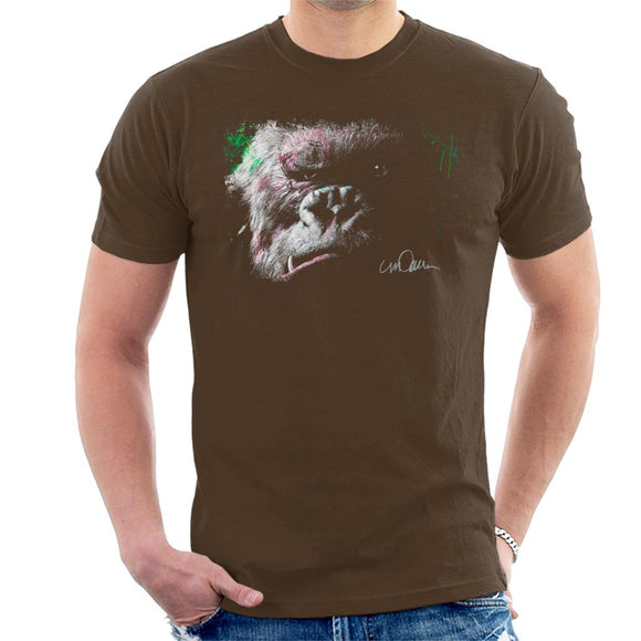 Sidney Maurer Original Portrait Of King Kong Glare Men's T-Shirt