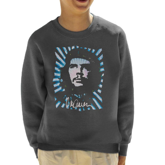 Sidney Maurer Original Portrait Of Revolutionary Che Guevara Kid's Sweatshirt