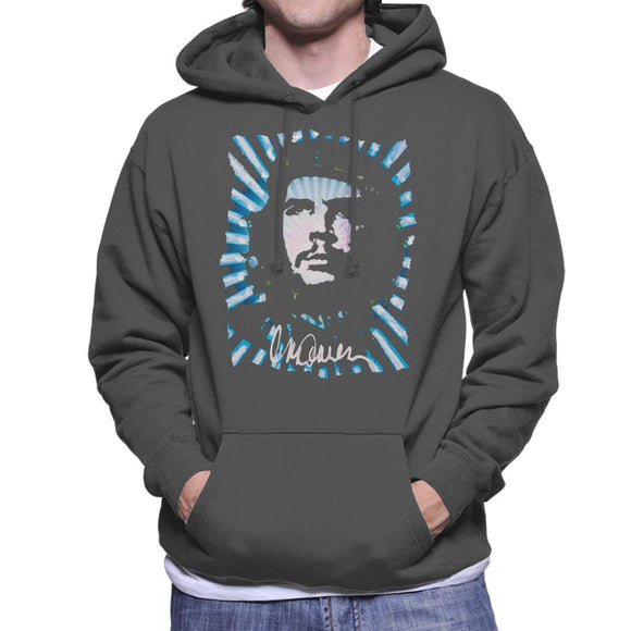 Sidney Maurer Original Portrait Of Revolutionary Che Guevara Men's Hooded Sweatshirt
