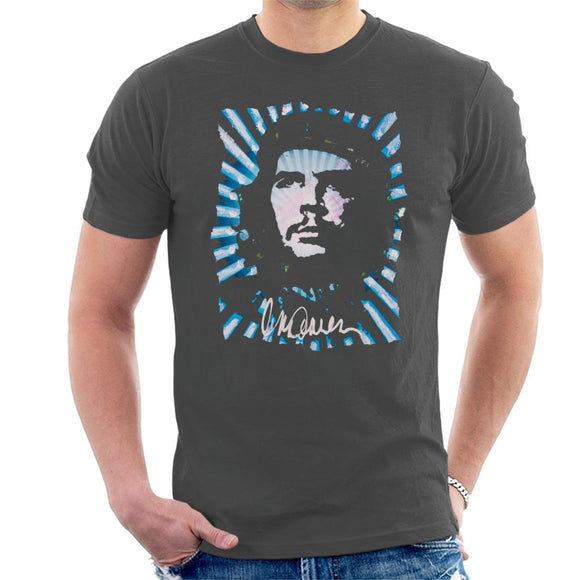 Sidney Maurer Original Portrait Of Revolutionary Che Guevara Men's T-Shirt