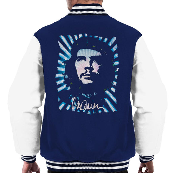 Sidney Maurer Original Portrait Of Revolutionary Che Guevara Men's Varsity Jacket