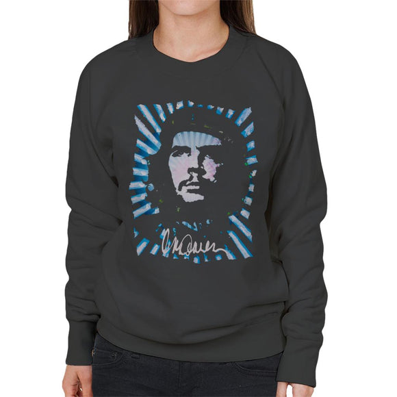 Sidney Maurer Original Portrait Of Revolutionary Che Guevara Women's Sweatshirt
