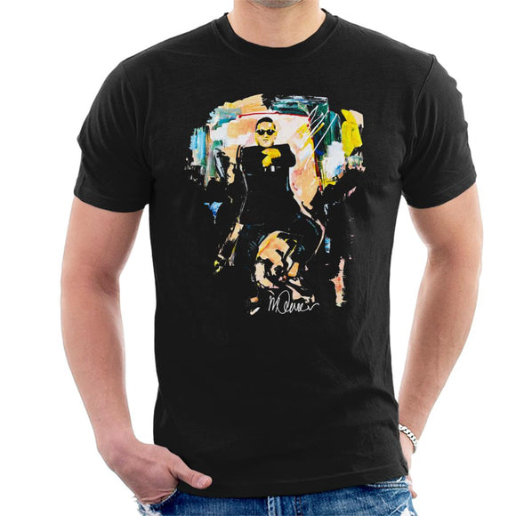 Sidney Maurer Original Portrait Of Psy Gangnam Style Men's T-Shirt
