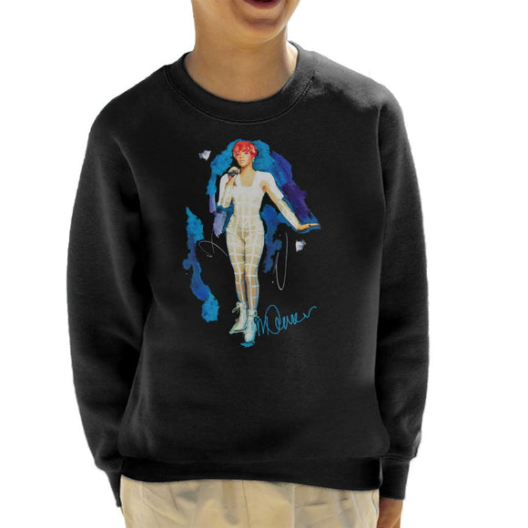 Sidney Maurer Original Portrait Of Rihanna Cut Out Outfit Kid's Sweatshirt