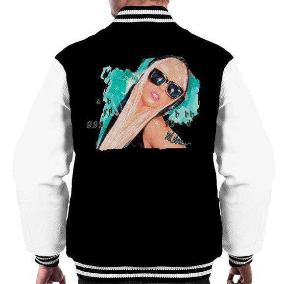Sidney Maurer Original Portrait Of Lady Gaga Shades Men's Varsity Jacket