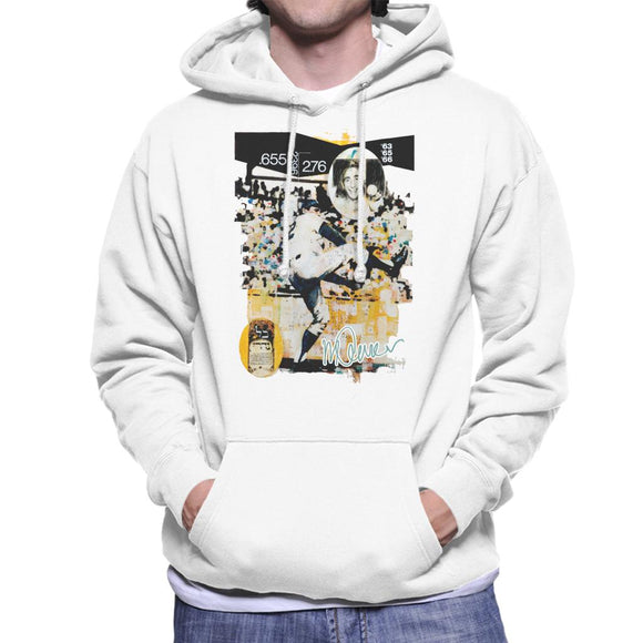 Sidney Maurer Original Portrait Of Sandy Koufax Men's Hooded Sweatshirt