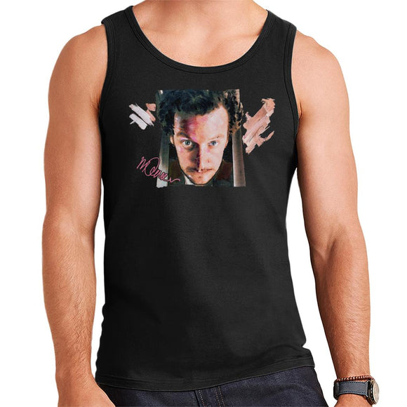 Sidney Maurer Original Portrait Of Daniel Stern As Wet Bandit Harry Home Alone Men's Vest