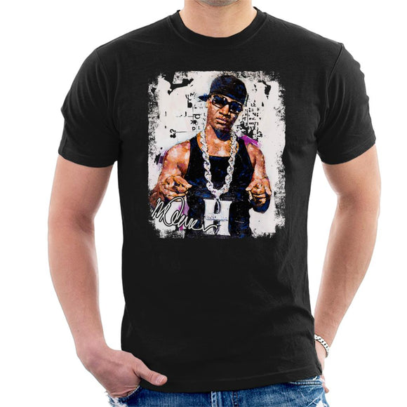 Sidney Maurer Original Portrait Of Young Jeezy Hustle Chain Men's T-Shirt