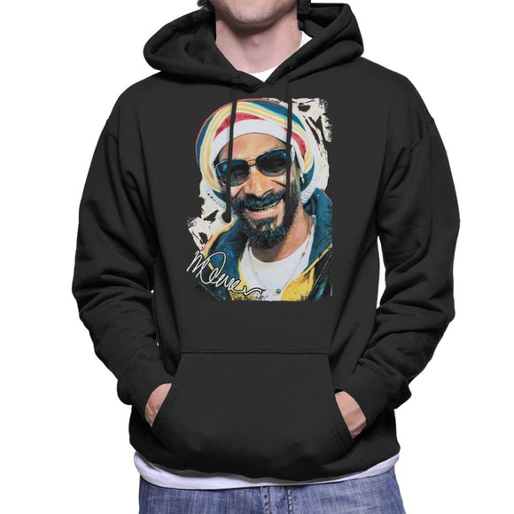 Sidney Maurer Original Portrait Of Snoop Dogg Gold Grill Men's Hooded Sweatshirt