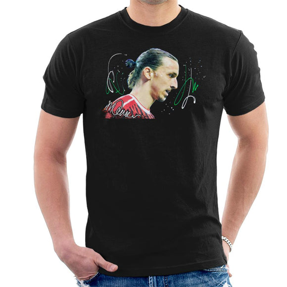 Sidney Maurer Original Portrait Of Zlatan Ibrahimovic Men's T-Shirt