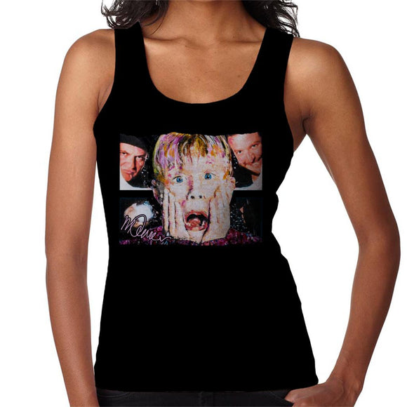 Sidney Maurer Original Portrait Of Macaulay Culkin Home Alone Women's Vest