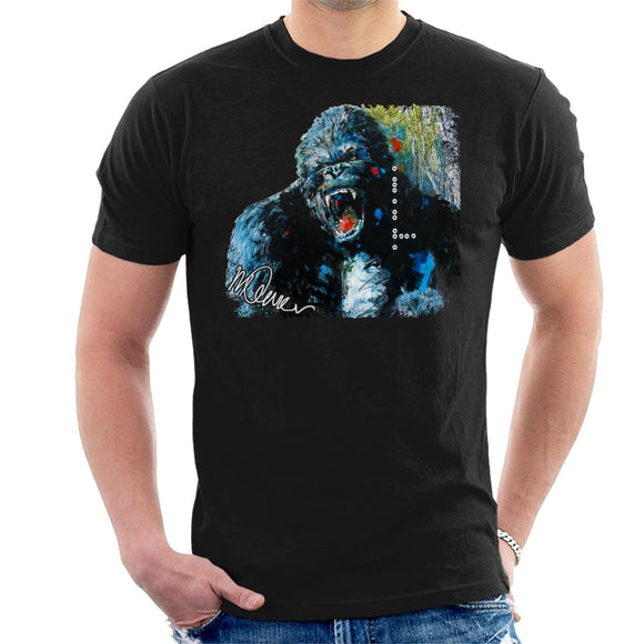Sidney Maurer Original Portrait Of King Kong Men's T-Shirt