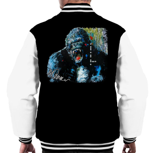 Sidney Maurer Original Portrait Of King Kong Men's Varsity Jacket