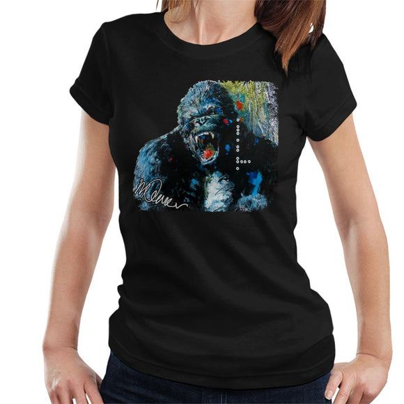 Sidney Maurer Original Portrait Of King Kong Women's T-Shirt
