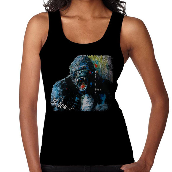 Sidney Maurer Original Portrait Of King Kong Women's Vest