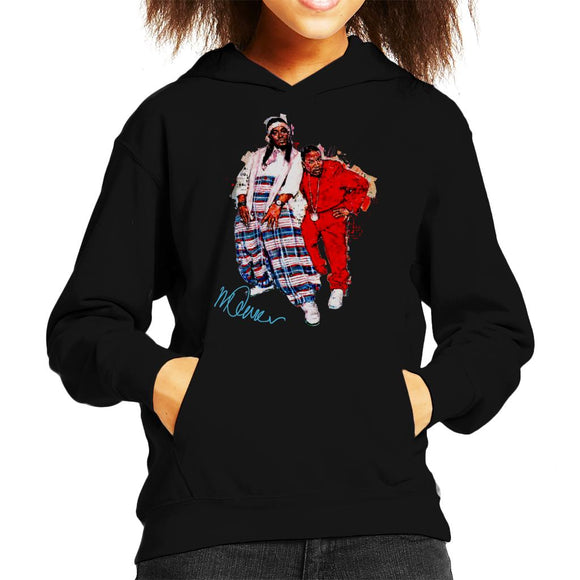 Sidney Maurer Original Portrait Of Outkast Andre 3000 Baggy Trousers Kid's Hooded Sweatshirt