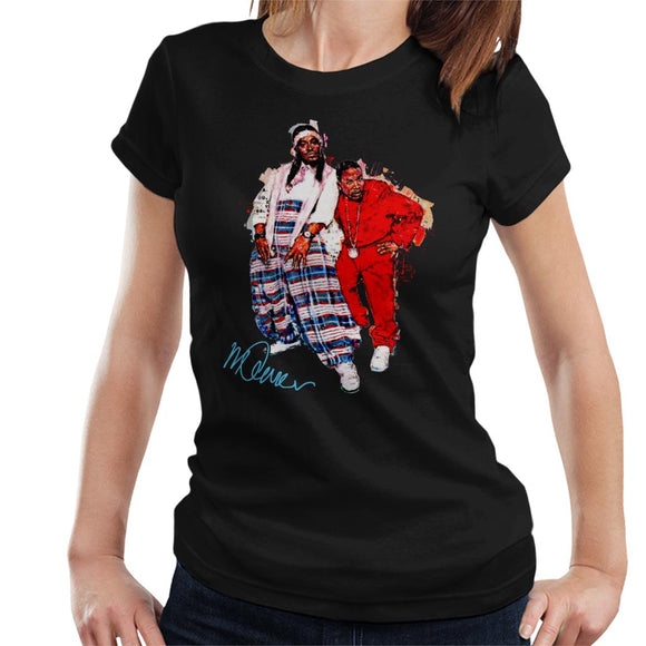 Sidney Maurer Original Portrait Of Outkast Andre 3000 Baggy Trousers Women's T-Shirt