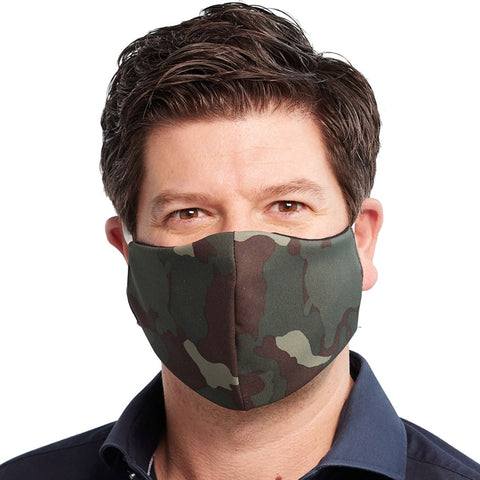 Masque de protection 3 pli - Camouflage