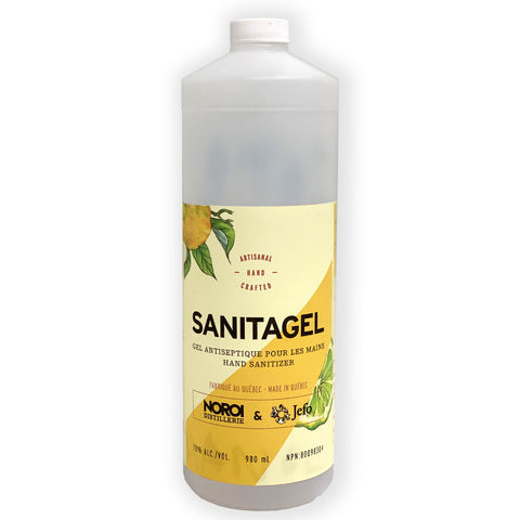 Sanitagel - Gel désinfectant pour les mains 980 ml (pompe incluse)