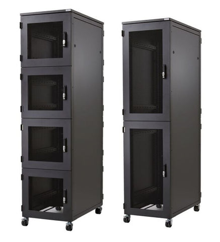 47U Co-location Rack 600 x 1200, 3 Compartments