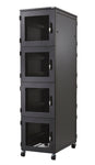 42U Co-location Rack 600 x 1200, 4 Compartments