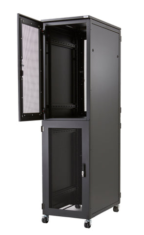 47U Co-location Rack 800 x 1000, 2 Compartments