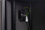 Orion Acoustic Wall Mount Data Cabinet in Black - Interior Detail