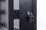 Orion Free Standing Data Cabinets Mesh Door Black
