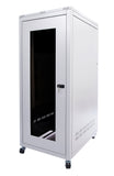 Orion Free Standing Data Cabinets Front Grey