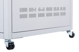 Orion Free Standing Data Cabinets Vent Side Panel Grey