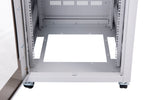 Orion Free Standing Data Cabinets Cable Entry Floor Grey