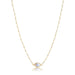 ela rae libi choker necklace pearl rainbow moonstone 14k yellow gold plate