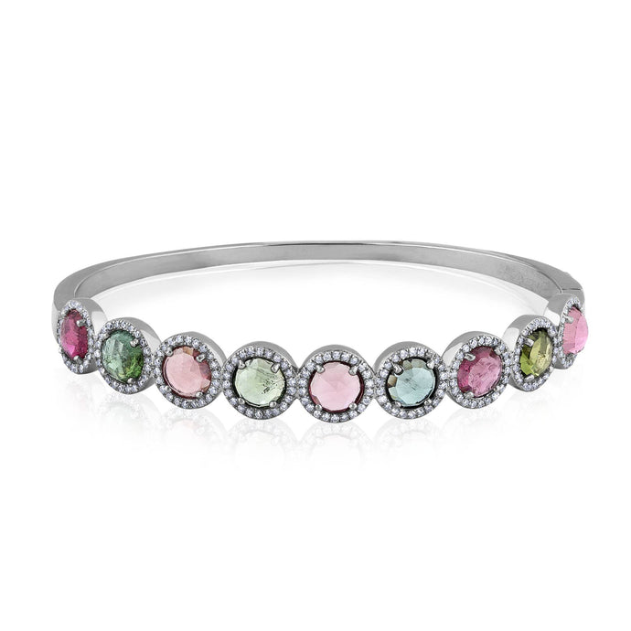 tourmaline luxe bangle