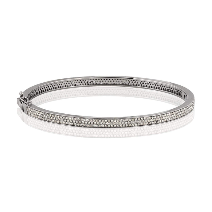 luna | triple row luxe bangle