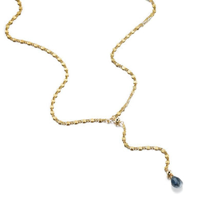 ela rae lina yaeli necklace 14k yellow gold plate