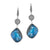 ela rae fiona earrings labradorite white zircon sterling silver