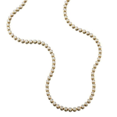 ela rae dina star collar necklace 14k yellow gold plate