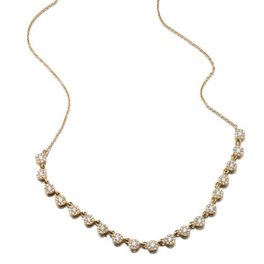 ela rae dina luxe diamond necklace 14k yellow gold