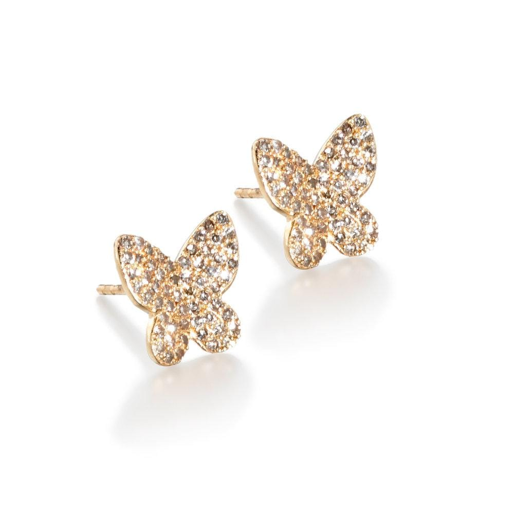phoebe | butterfly studs - ela rae