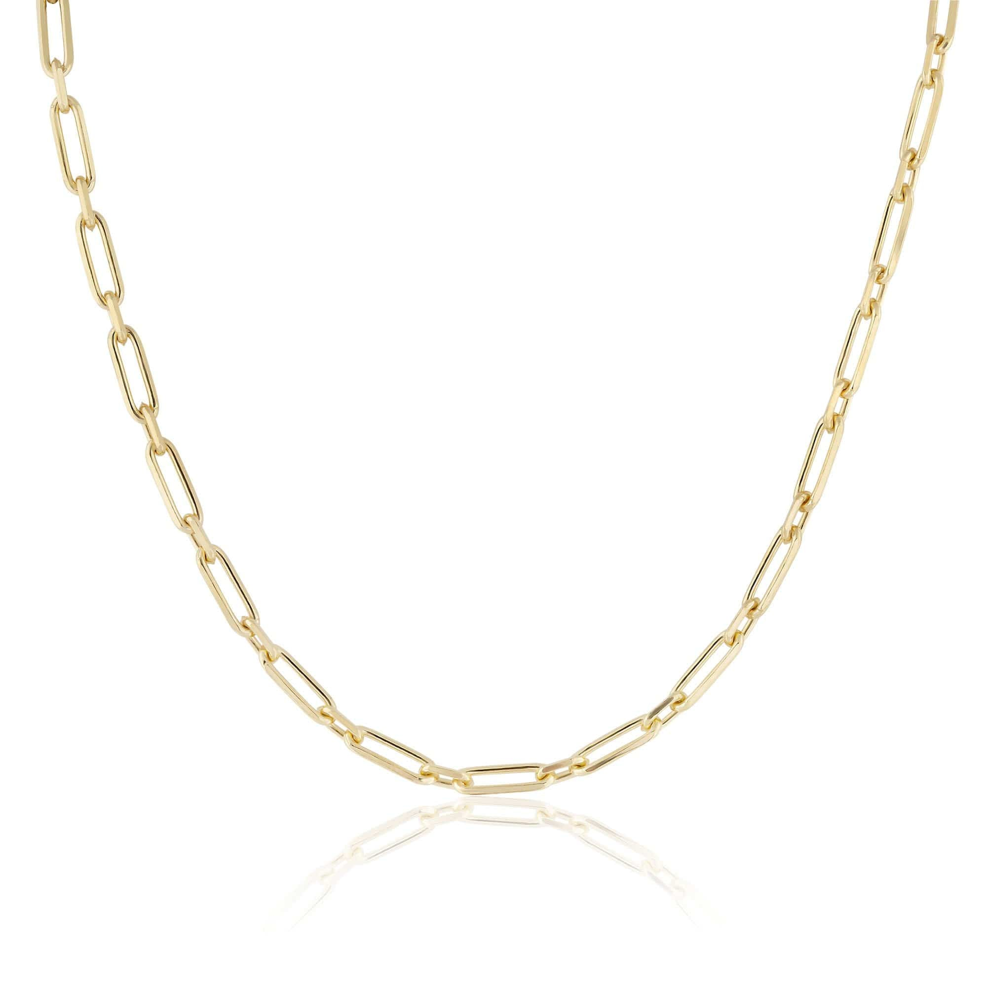 rectangle & round chain