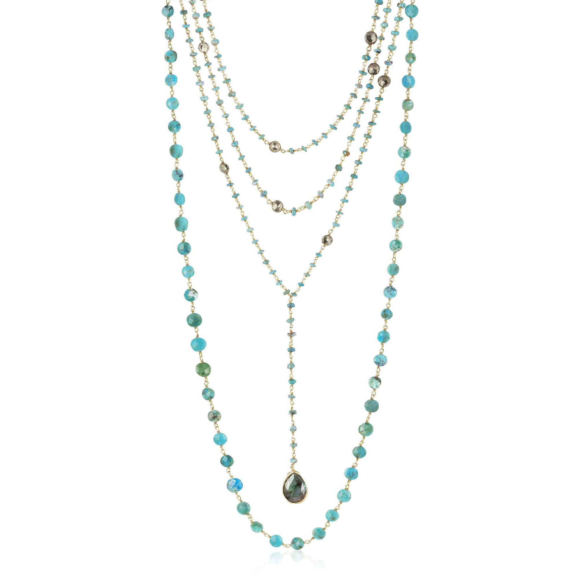 turquoise long | set of 3 - ela rae