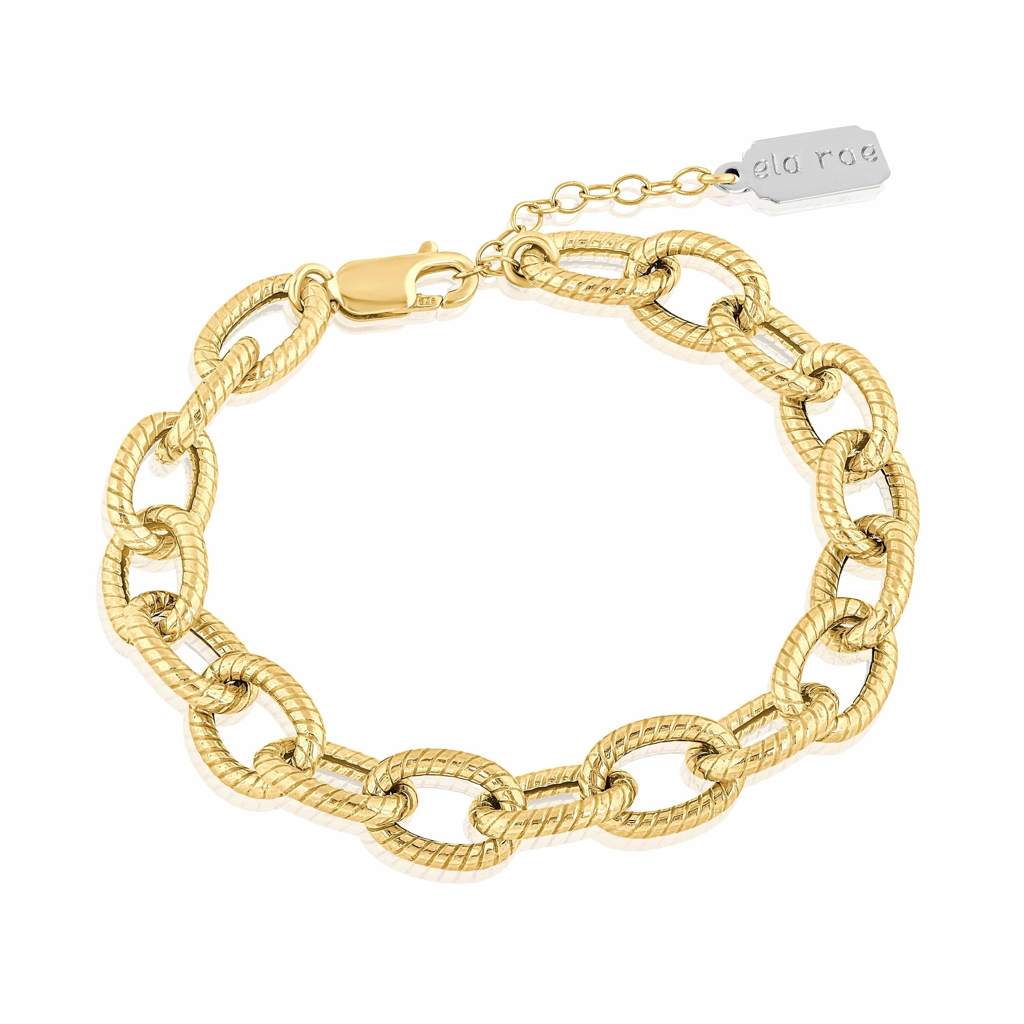 twisted chain bracelet