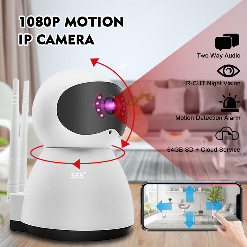 WIFI 1080P ONVIF IP Camera Night Vision