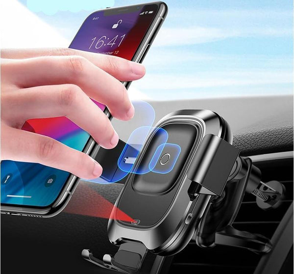 High-end Air Vent Mount Wireless Car Charger