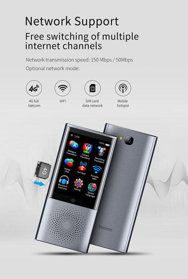 Touch Screen Smart Translator