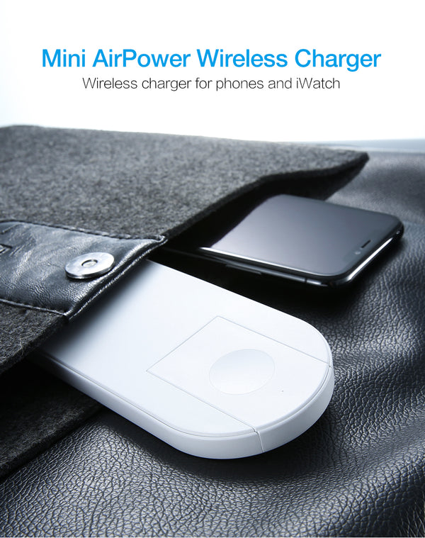 Phone and Watch Dual Wireless Charger