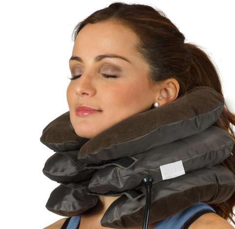 Three Layers Inflatable Neck Support Brace